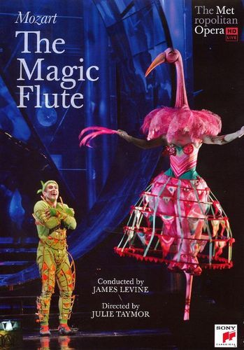 Mozart The Magic Flute Video Dvd With Images The Magic Flute Mozart Opera