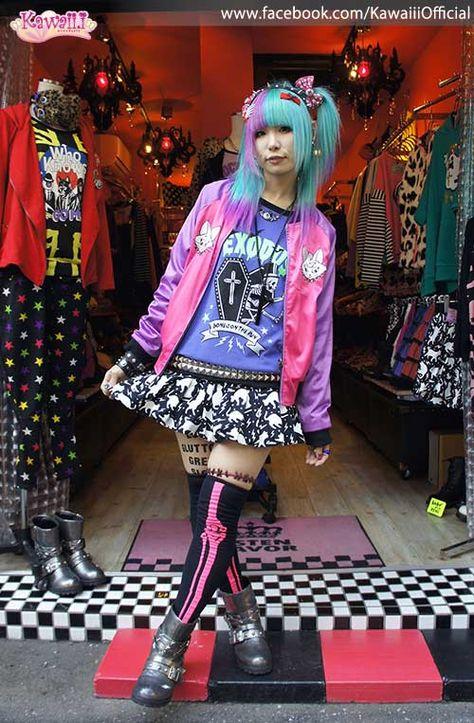 666 choker harajuku kawaii decora fashion goth style