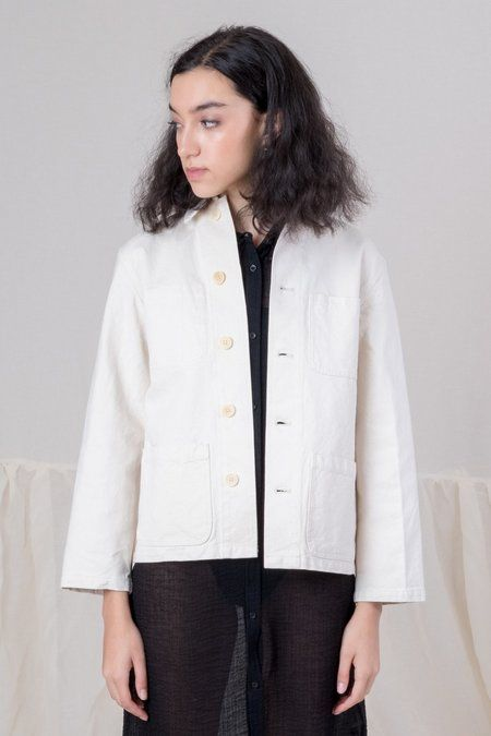 8df5bbf32 Caron Callahan Duck Canvas Krasner Jacket - Natural | What to wear ...