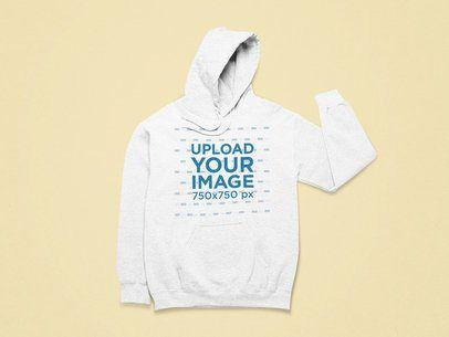 Download Placeit Mockup Of A Front Facing Heathered Hoodie Hoodies Clothing Mockup Hoodie Mockup