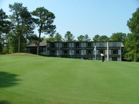 The Guest House from the 18th green