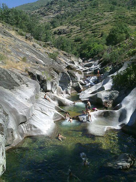 Summer time at Garganta de los Infiernos, Extremadura, Spain.