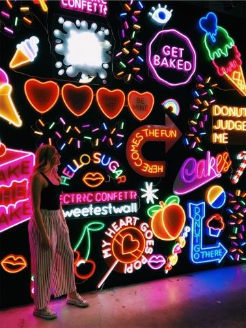 Get F Go Neon Find A Beautifully Chaotically Lit Place And