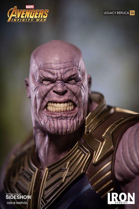 Marvel Thanos Statue by Iron Studios