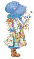 Holly Hobbie - this is who I remind my boss of?!? Haha