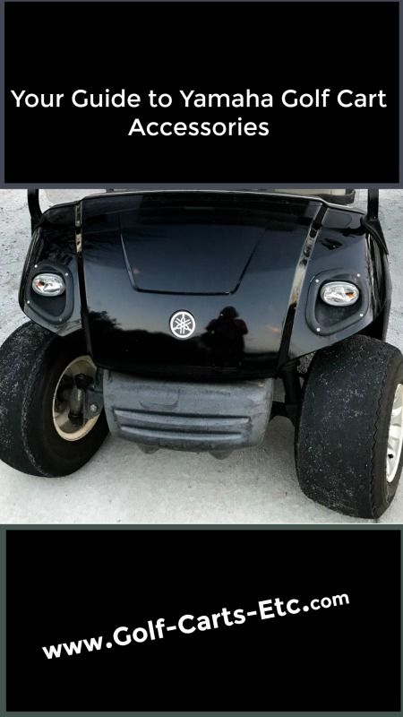 Yamaha Golf Cart Accessories - Storage and Style | All Golf