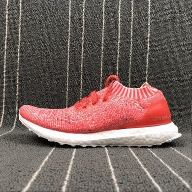 29b914d1ad0 Adidas UltraBoost Uncaged UB Socks Red White Shoes S80782 Midsole Boost