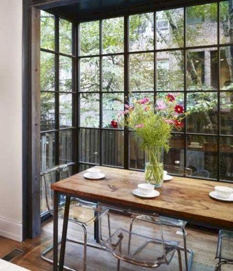 40 Stunning Farmhouse Dining Room Decor Ideas #farmhousediningroom #diningroomdecor #diningroomideas