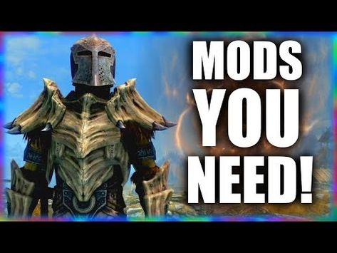 5 Essential Mods to make Skyrim more of an RPG - YouTube