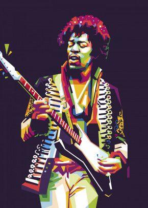 Jimi Hendrix Wpap Poster Print By Nofa Aji Zatmiko Displate Jimi Hendrix Art Hendrix Jimi Hendrix