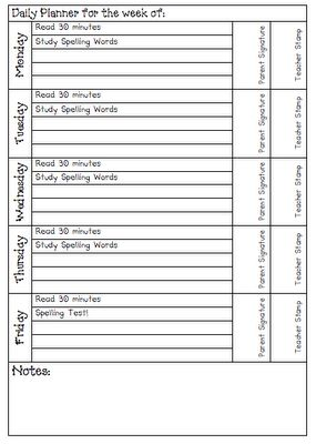 I love student planners, but we might not get them this year...I can use this idea to make my own!