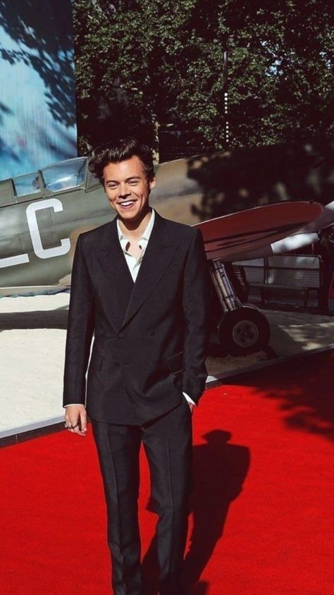 Harry Styles on premiere of Dunkirk Harry Styles Imagines, Harry Styles Fofo, Harry Styles Eyes, Harry Styles Pictures, Eleanor Calder, Harry Edward Styles, The Vamps, Gifs Musica, Beautiful Boys