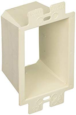 Arlington Industries Be1 621614 Single Gang Box Extender Heavy Duty Plastic Electrical Outlets Electricity Plates On Wall