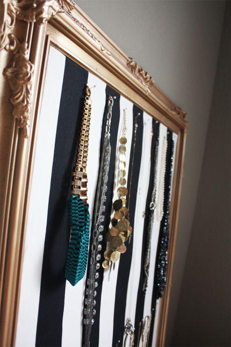 Jewelry Bulletin Board DIY