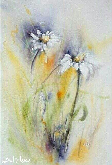 Pin By Iwona Przeklasa On صباحيات Watercolor Flowers Paintings Watercolor Watercolor Flowers