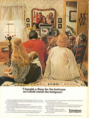 1971 Sony Trinitron Color Tv Advertisement Time Magazine August 30 1971 Vintage Ads Tv Advertising Vintage Advertisements