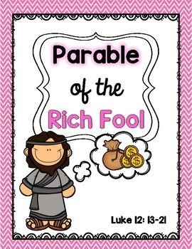 The Parable Of The Rich Fool The Rich Fool The Fool Read Aloud