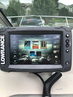 Ad Ebay Lowrance Elite 7 Ti Touchscreen Gps Fishfinder With Totalscan Transducer In 2020 Transducer Gps Ebay