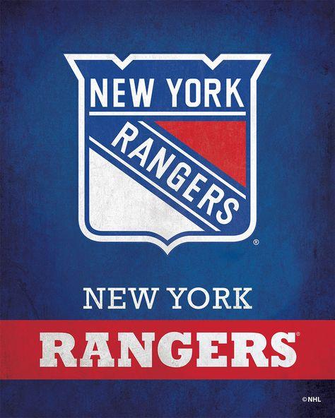 New York Rangers Pride Logo - ScoreArt
