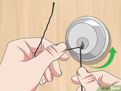 How To Open A Locked Door With A Bobby Pin Bobby Pins Picking Locks Bobby Pins Pin Lock
