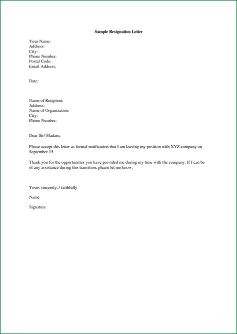 letter chef neighbor thank appreciation resignation sample - letter of resignation samples