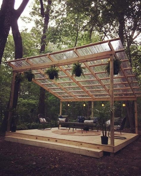 48 backyard porch ideas on a budget patio makeover outdoor spaces best of i like this open layout like the pergola over the table grill 45