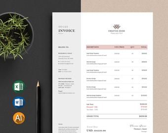 This Item Is Unavailable Etsy Invoice Design Invoice Template Printable Invoice