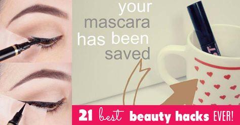 21 Best Beauty Hacks Ever!