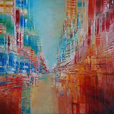 Oeuvre d art unique Errance 181 de l'artiste Claudine Cornille, de style  Abstrait   Contemporary abstract art, Abstract, Abstract artists