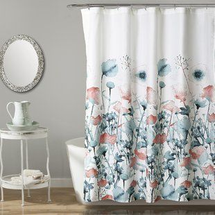 World Menagerie Haskell Boho Bouquet Single Shower Curtain