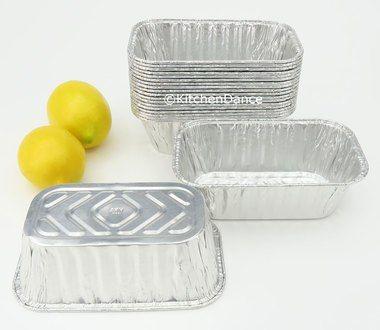 Disposable Aluminum Foil 1 Lb Mini Loaf Pan 5000nl Mini Loaf