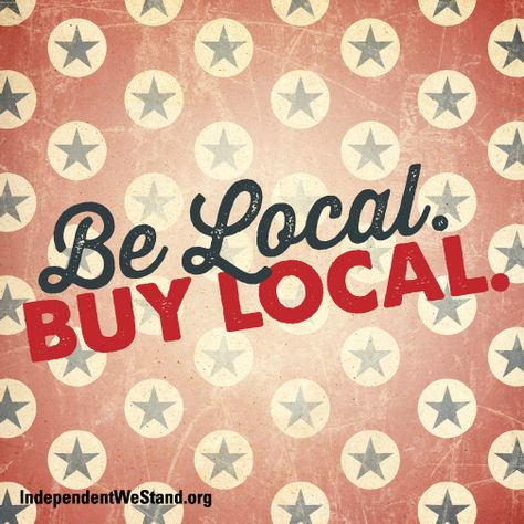 Love your community, shop locally