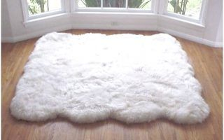 Big White Fluffy Rugs With Images White Carpet Living Room