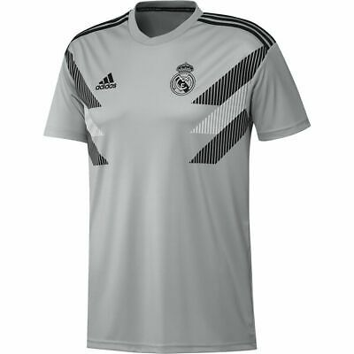 Details About Adidas Football Soccer Real Madrid Cf Mens Sz 2xl Home Pre Match Jersey Cw5826 In 2020 Mens Sportswear Adidas Football Mens Tops