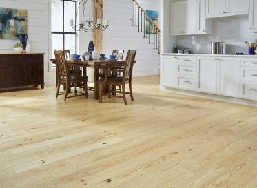 Mayflower 3 4 X 5 1 8 Natural Pine Rustic Prefinished Solid Flooring 30 Year Warranty As A Flooring Opt Hardwood Floors Types Of Hardwood Floors Hardwood
