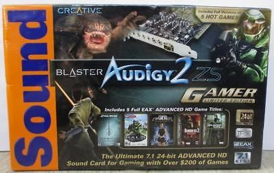 Sound Cards Internal 44980: Sound Blaster Audigy2 Zs Gamer Limited