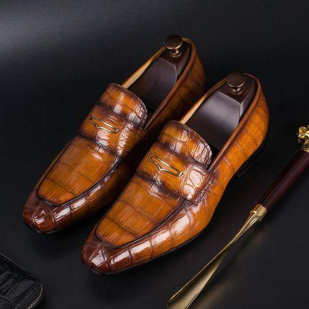 Men's Alligator Shoes: