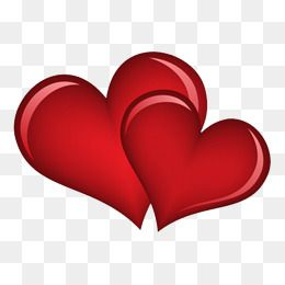 Decorative Heart Heart Clipart Red Heart Red Double Heart Png Transparent Clipart Image And Psd File For Free Download Colorful Heart Clip Art Red Heart