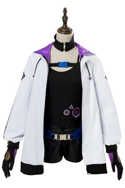 Anime Girls Frontline Set AA12 Cosplay Costume+Sock Full Set Women Girl Coat