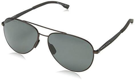 1e3078df81  107.88 - BOSS by Hugo Boss Men s Boss 0938 s Polarized Aviator Sunglasses