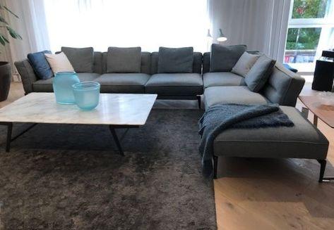 Das Adda Sofa Von Flexform Als Lounge Ecke In Grauem Stoff Couch Schonerwohnen Instainspiration Home Homede Mit Bildern Haus Deko Wohn Design Schoner Wohnen