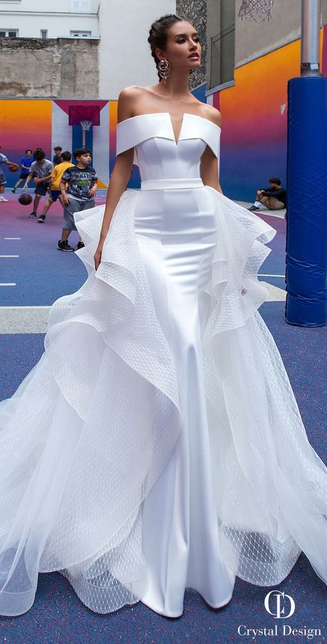 30 Unique & Hot Sexy Wedding Dresses Sexy Wedding Dresses Ideas ♥ Don't want to look like white princess in your wedding dress on your big day? We collected for you some sexy wedding dresses which are elegant alternatives.