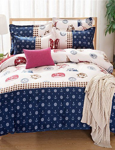 Jt Bedding Bed Linings Brushed Cotton Super Soft Aloe Cartoon Family Of Four Bedding Linen Quilt Bedding Set Queen Quilt Sets Bedding Bedding Set Bed