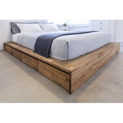 Gothic Furniture Captains Storage Platform Bed In 2019