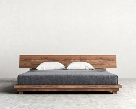 Natural Wood Beds By Ign Design  Rustic Knotty Wood  Rustic Wood