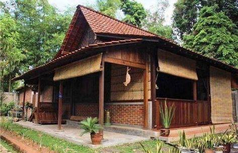 56 Ide Rumah Adat Jawa Rumah Arsitektur Rumah Kayu