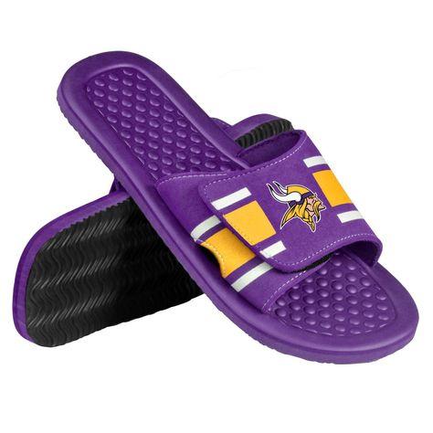 Minnesota Vikings Men S Shower Slide Flip Flop Sandals