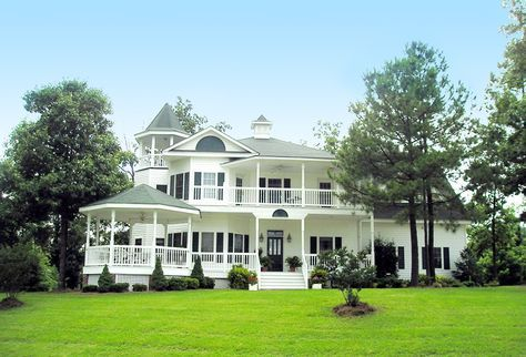 Plan 32561wp Gazebos And Turrets Victorian House Plans Queen Anne House Dream House Plans