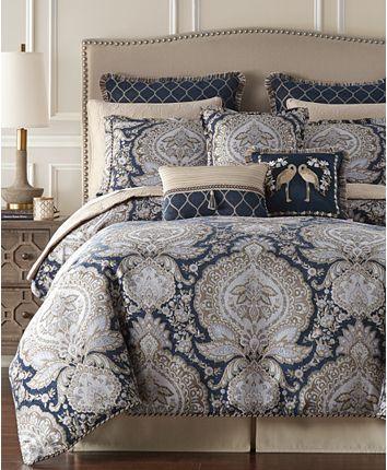 Croscill Valentina Collection Reviews Designer Bedding Bed Bath Macy S King Comforter Sets Comforter Sets Queen Comforter Sets