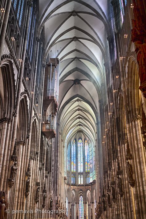 Cathedral, Cologne, Germany and another organ recital ~ it was so crowded we had to sit on the floor!